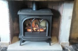 Huntington 40 Gas Stove with Tracery Door