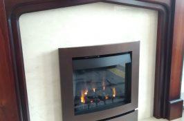 Nu Flame Vitesse Gas Fire with Noir Arc Trim