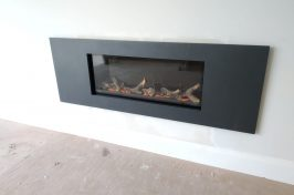 Studio 1 Gas Fire with Steel 2 Frame